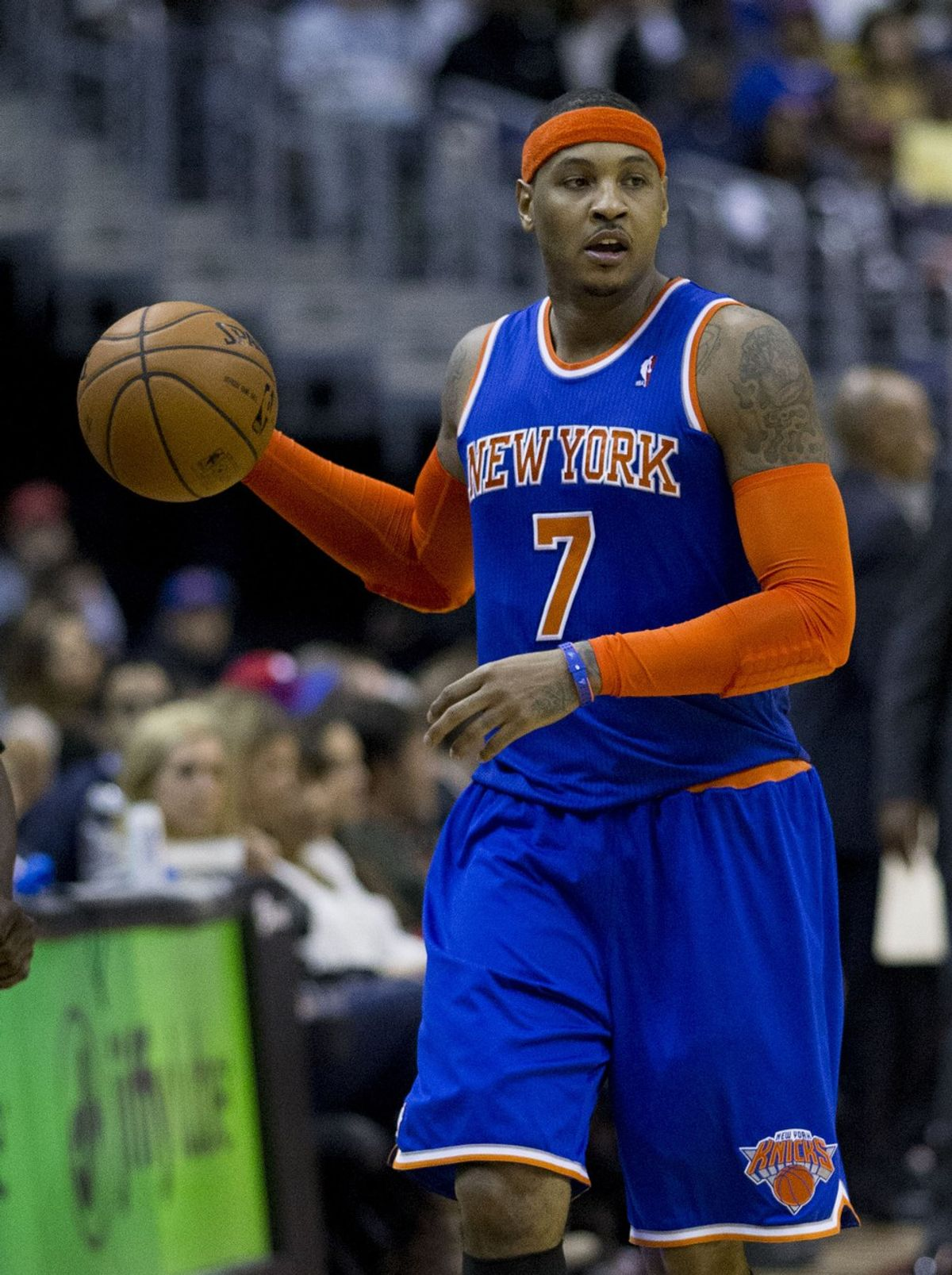 Carmelo Anthony's Future With The Knicks In Doubt