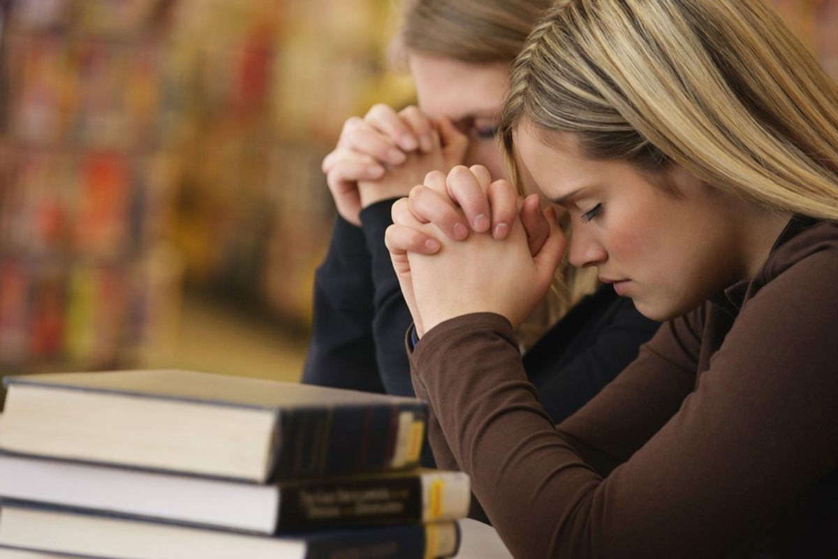 A Prayer To Begin A New Semester For College Students