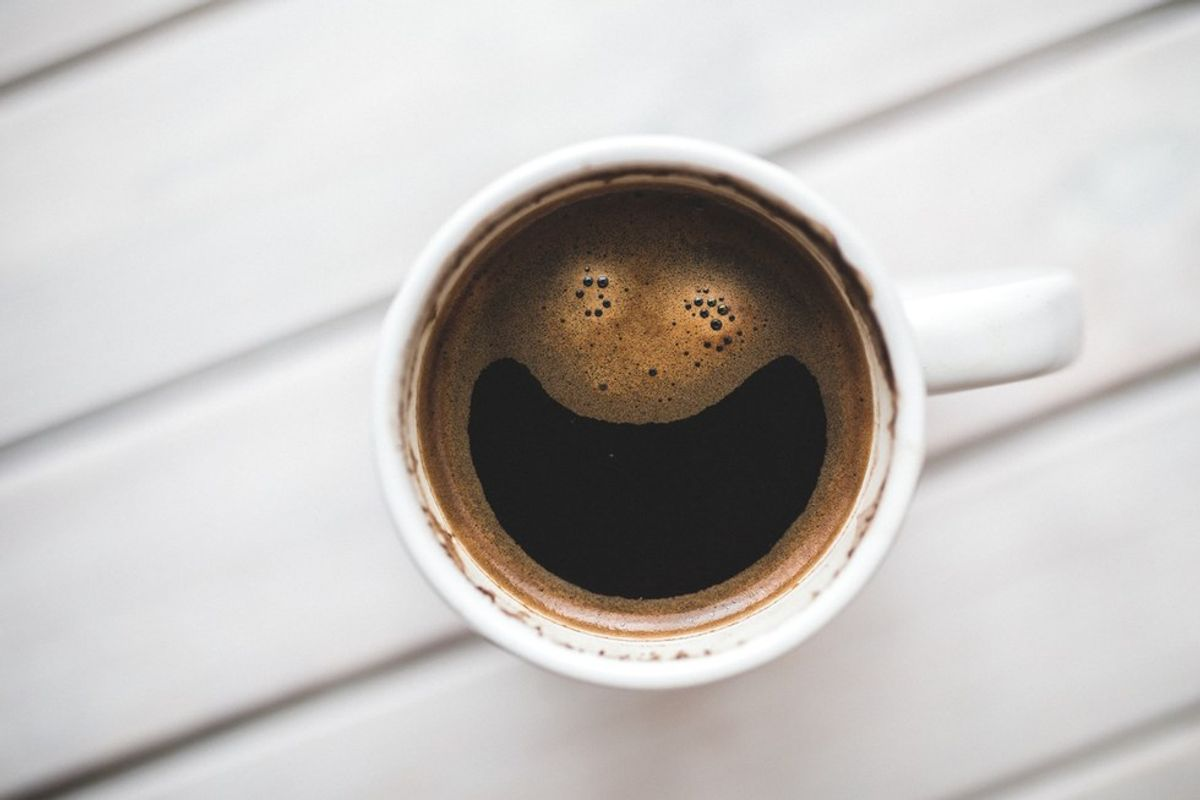 Coffee May Counter Aging