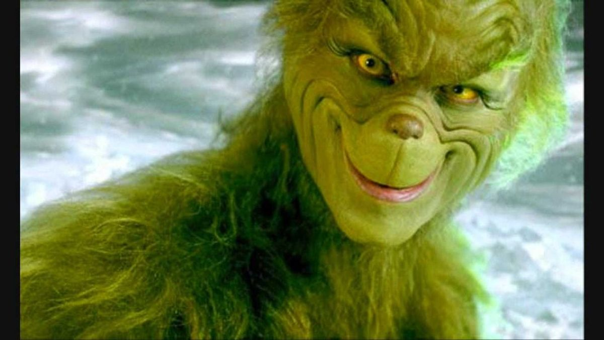 The Struggles of a College Student, as Told By The Grinch