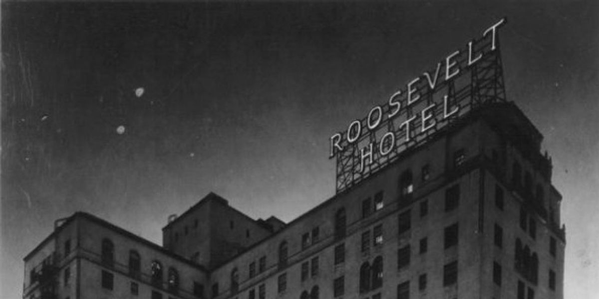 Hauntings At The Hollywood Roosevelt Hotel