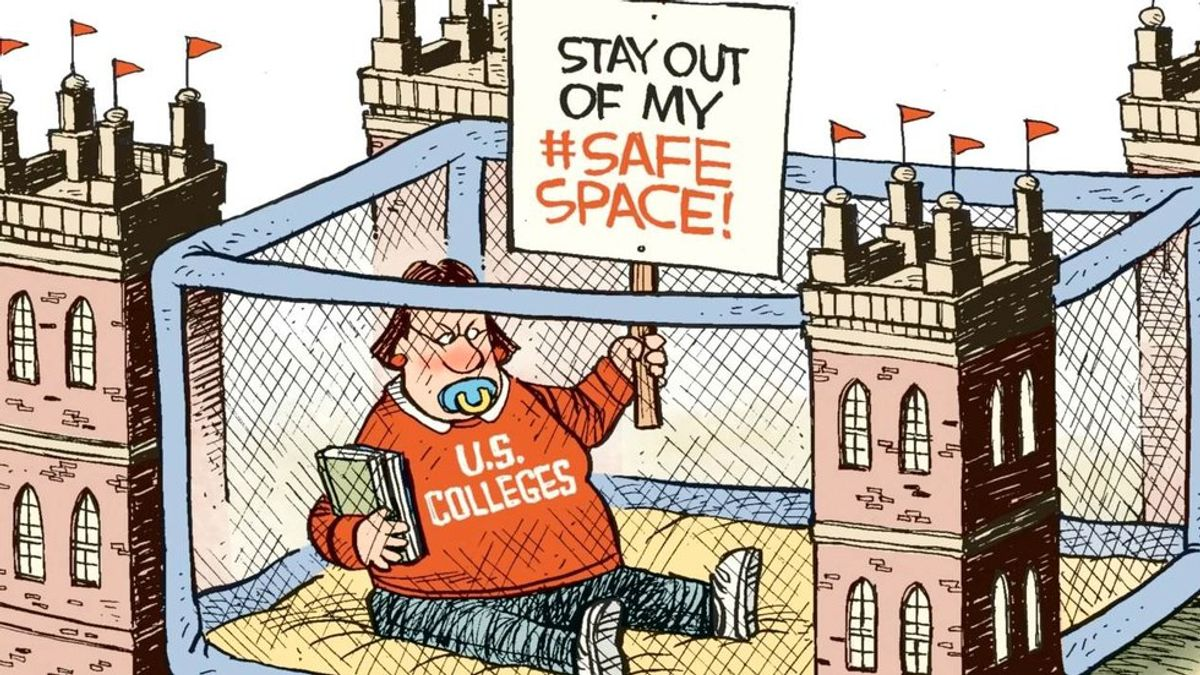The Problem With Safe Spaces