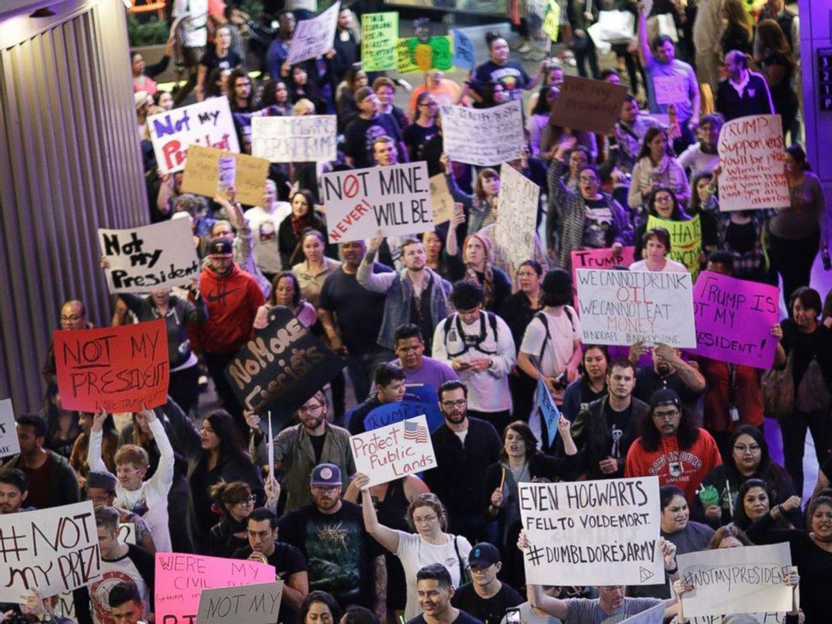 Why Violence Will Ruin Anti-Trump Protests