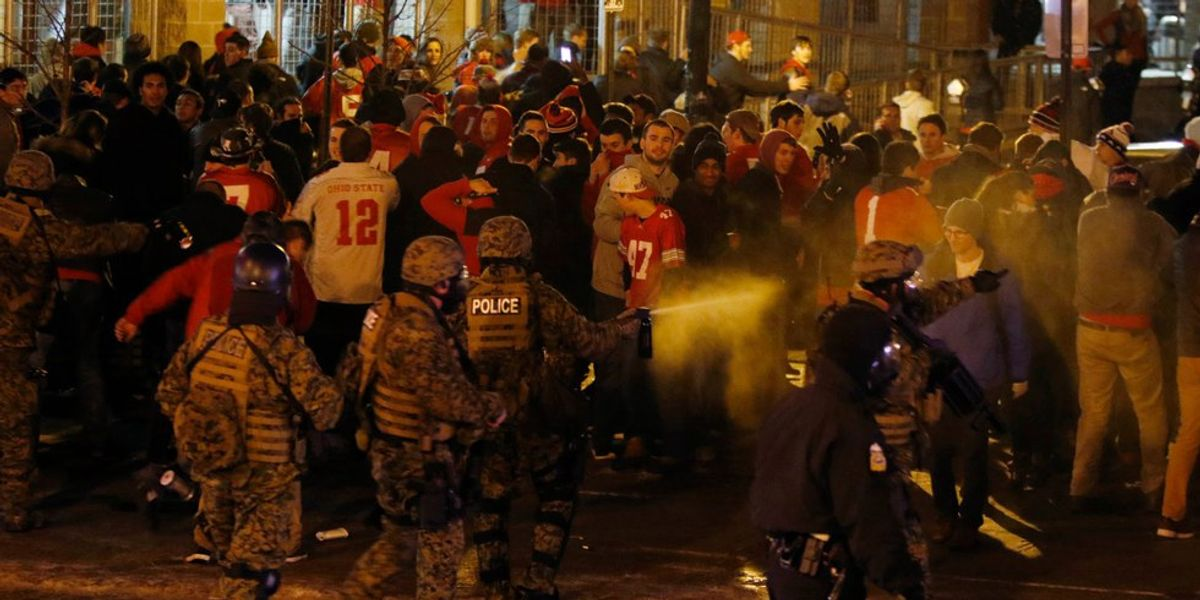The Difference Between Protesters And Rioters