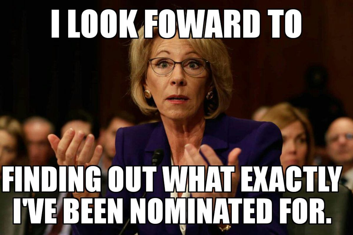 10 Reason Why Betsy DeVos Is The WORST Pick For Secretary Of Education