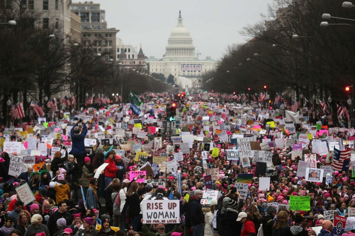 I Attended a Local Women's March. Here's What Happened