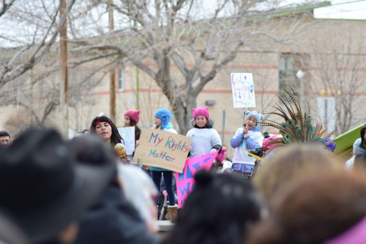 Thousands attend Women's March in El Paso