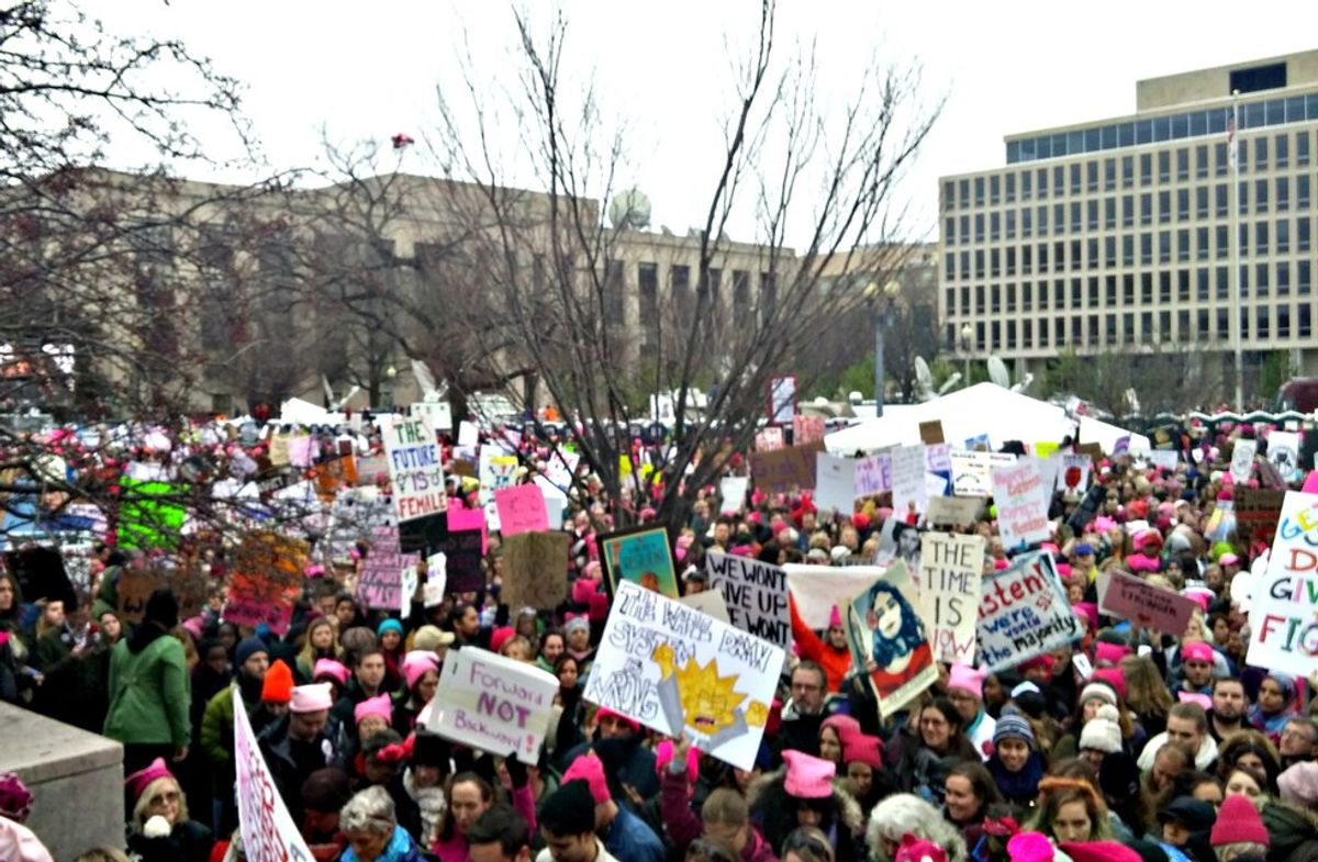 A Letter to Men Trash-Talking #WomensMarch