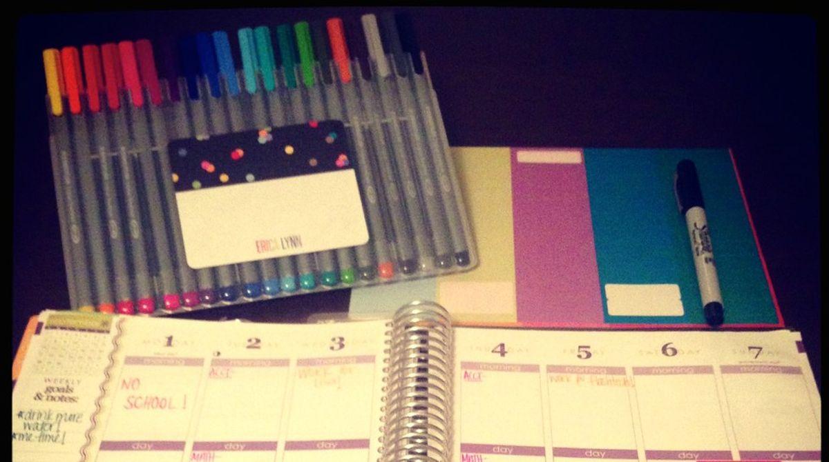 8 Ways To Start Fresh This Semester