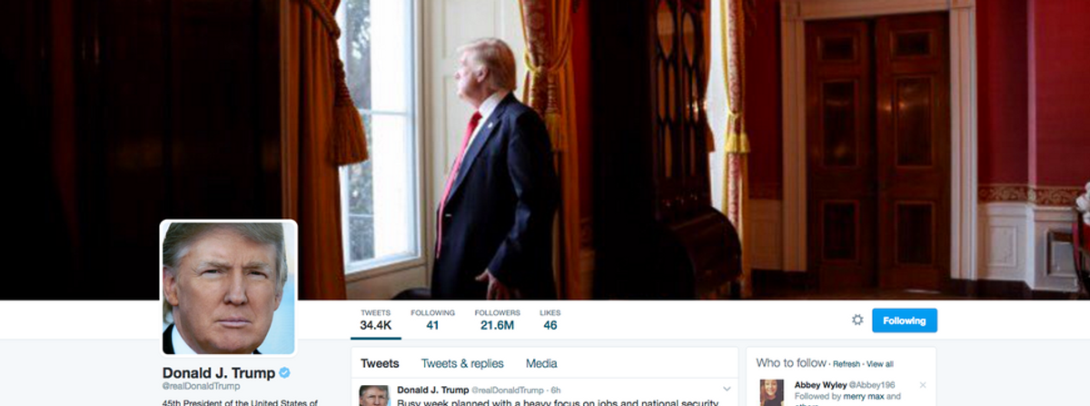 Day One in Trump's America: What Can I Tweet First?