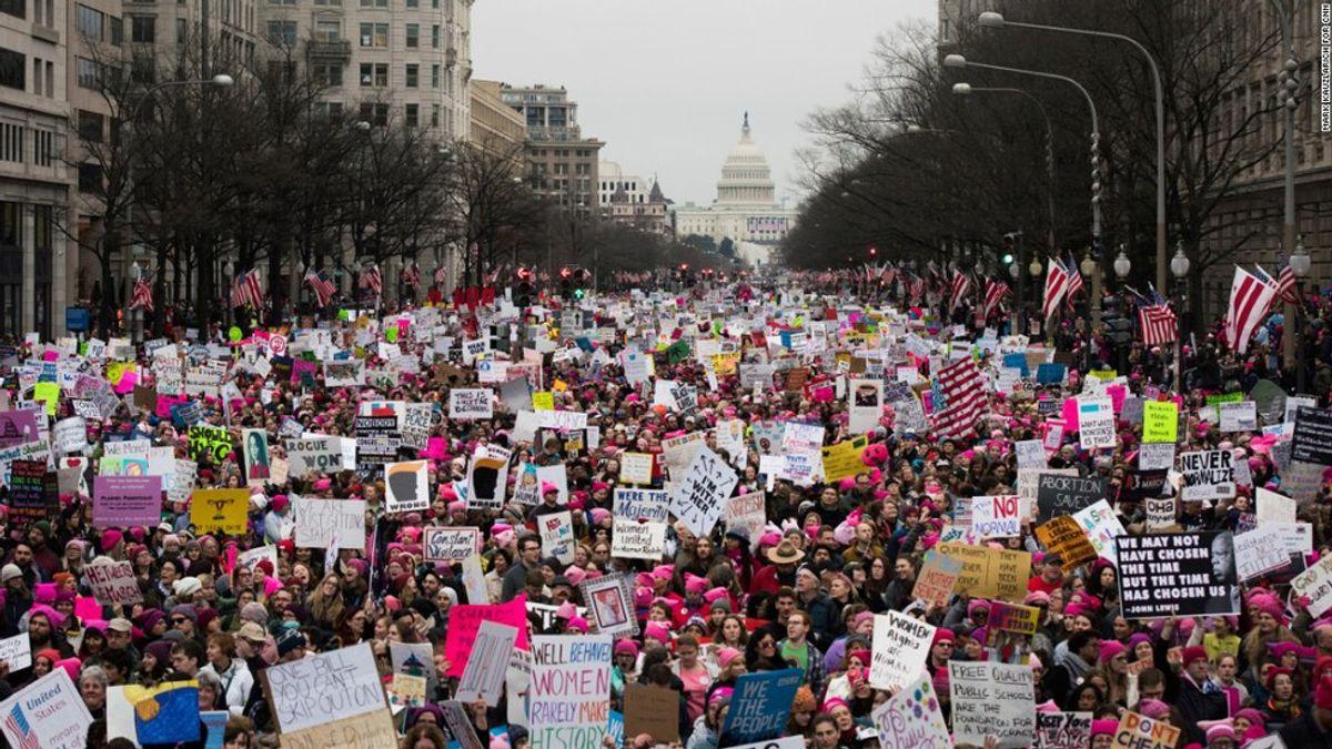 Protesters Aren't Sore Losers