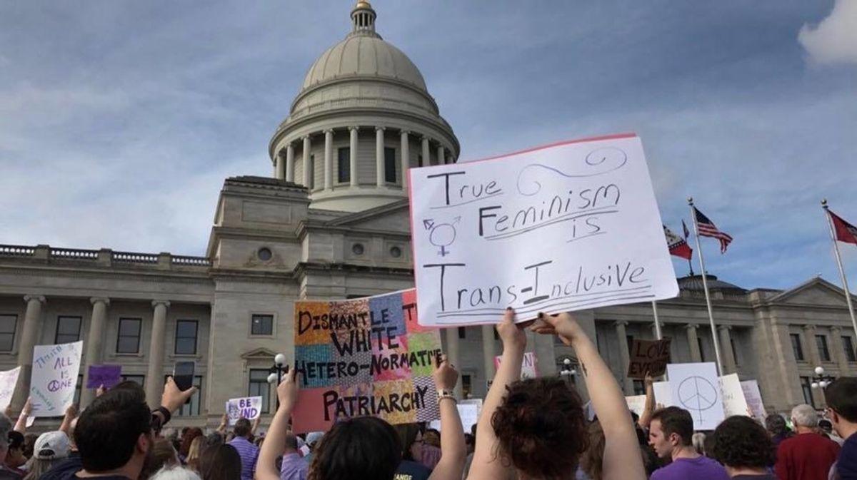 Women's March For Arkansas Chokes On Diversity