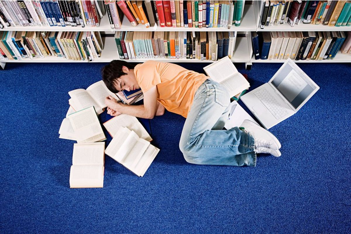 11 Truest Struggles Of Being A College Student