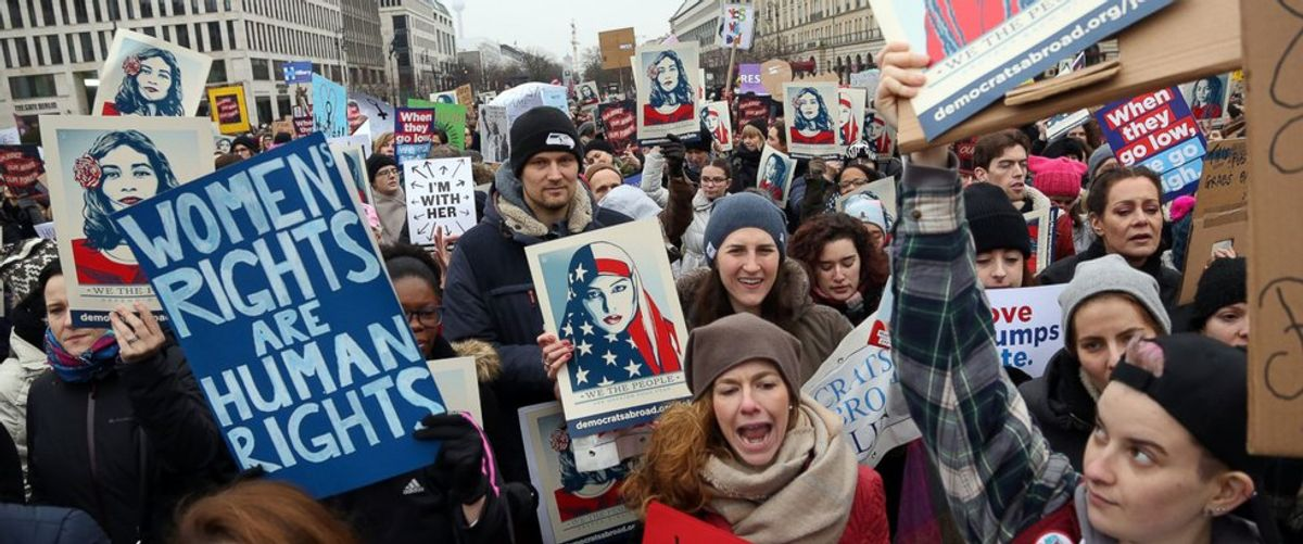 6 Women On Their Experiences In The Women's Marches