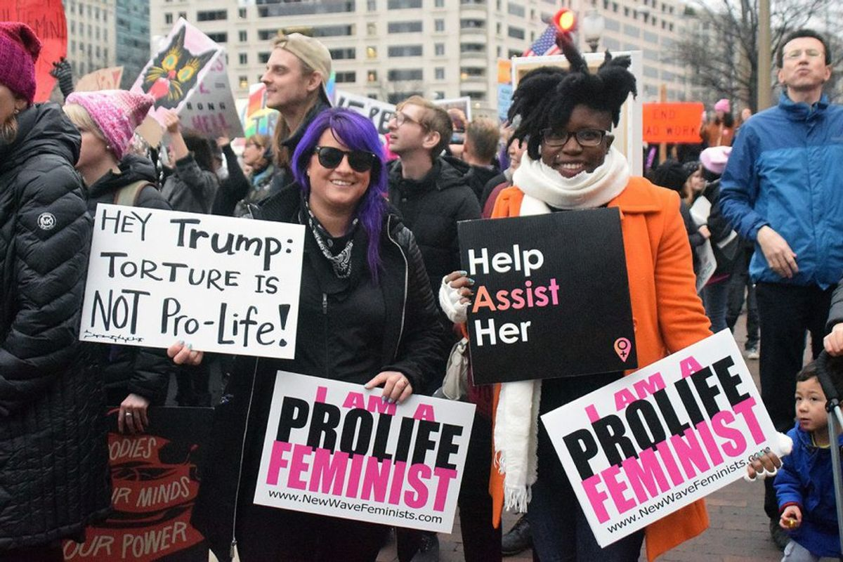 Feminists At March For Life?