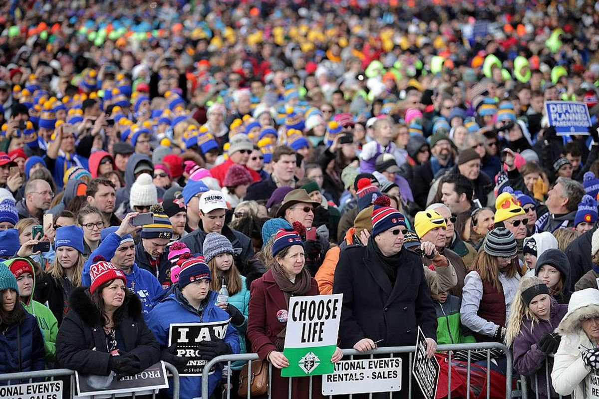 A Female Millenial's View Of The March For Life