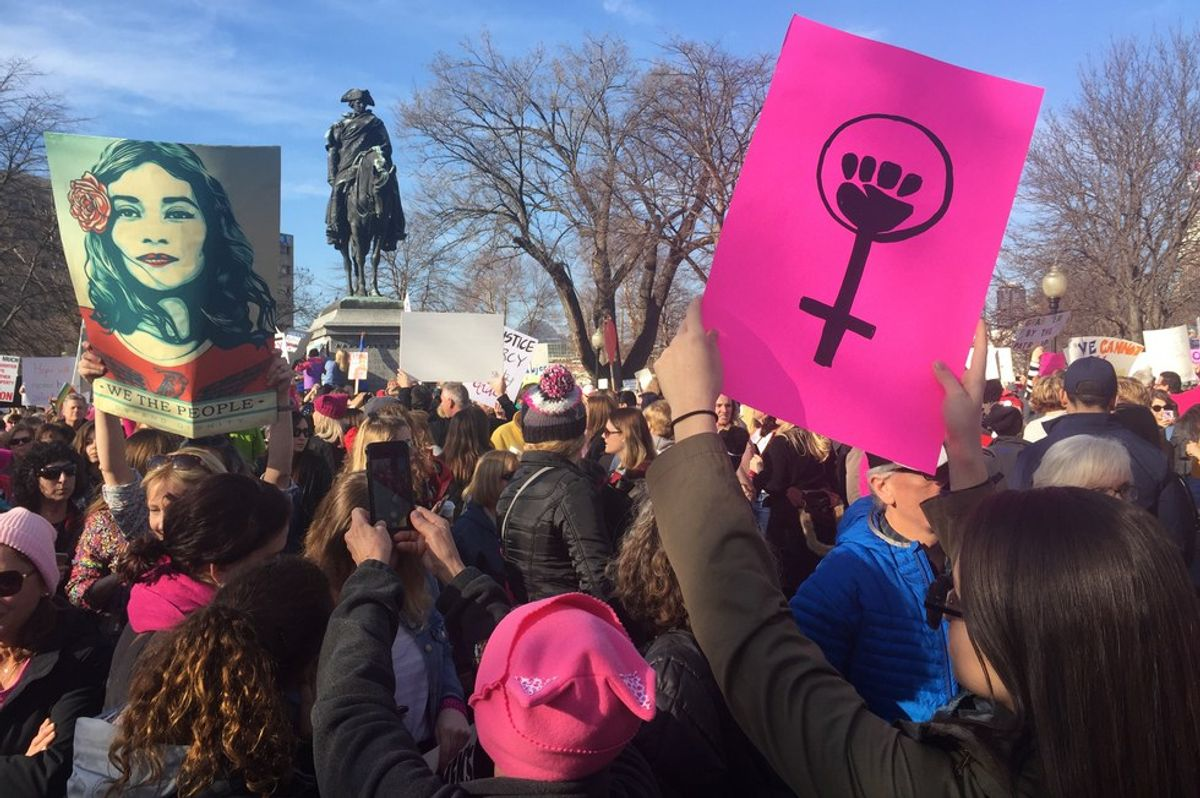 4 Reasons The Women's March Was A Positive Experience