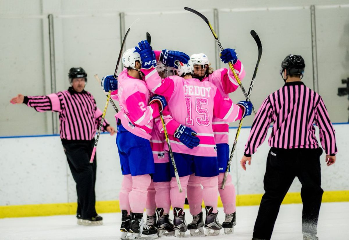 SUNY Fredonia's 'Pink The Rink' Does It Again