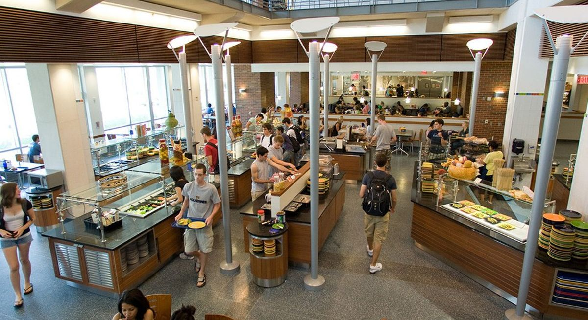 5 Ways To Eat Healthy In The Dining Hall