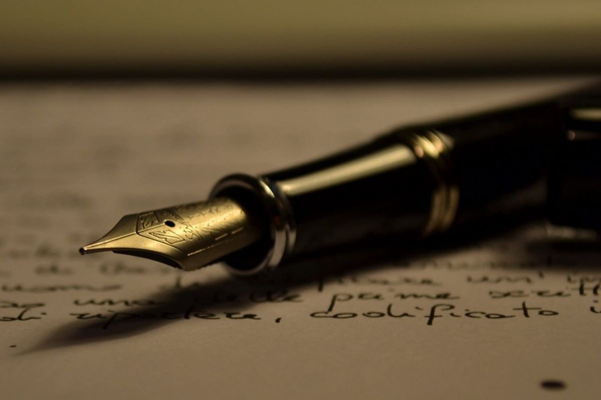 Ink Stained Hands: Why I Write