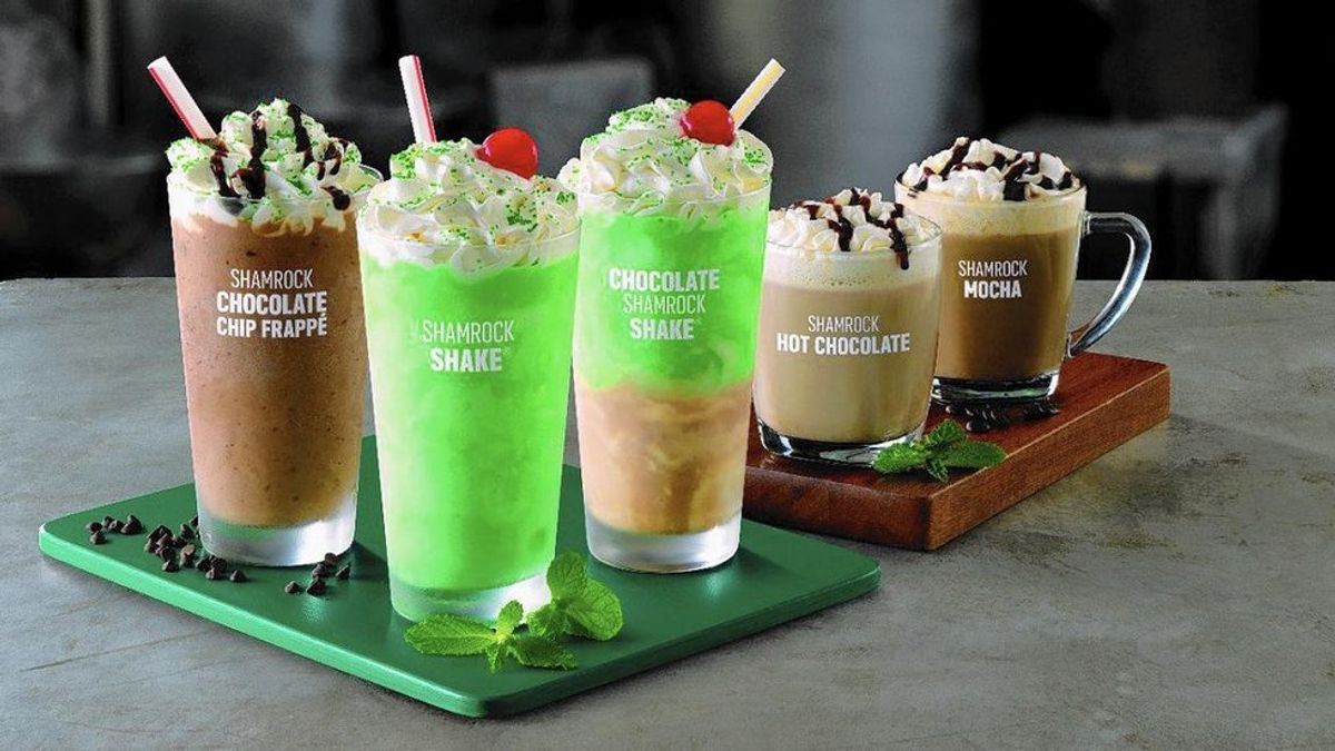 McDonald's Shamrock Shakes Are The Best Worst Nightmare Ever