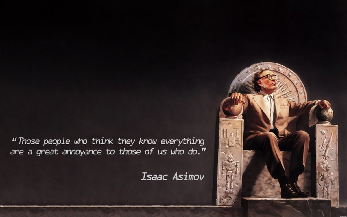 The Words Of Isaac Asimov