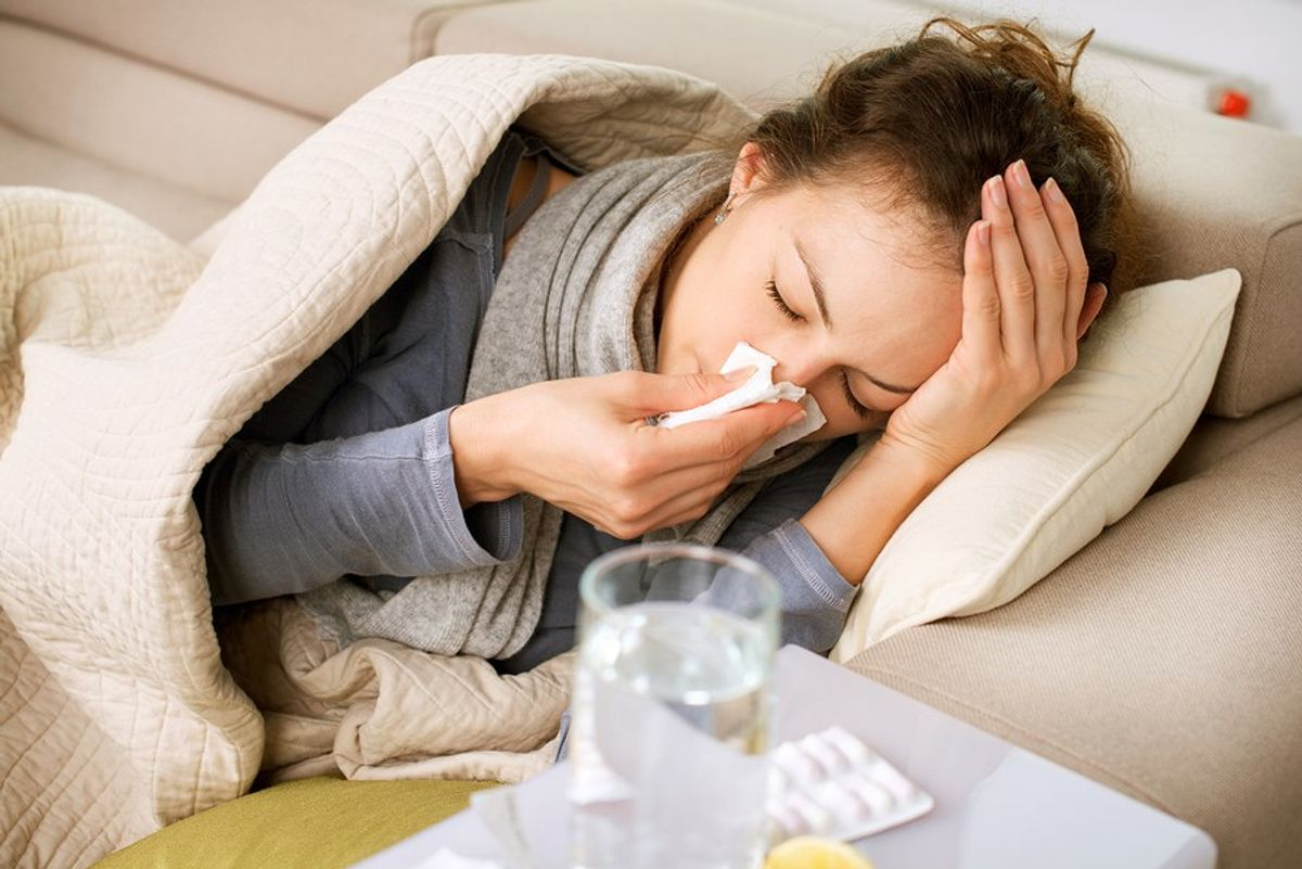 8 Things That Happen When You're Sick In College