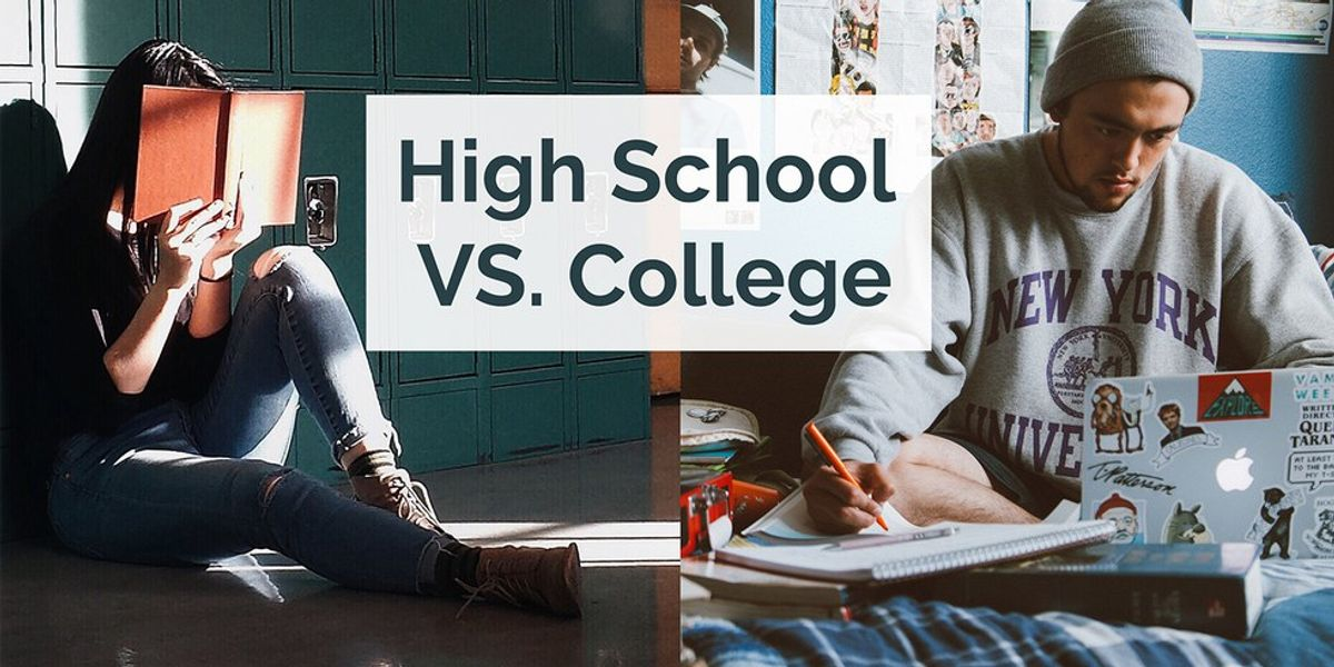 10 Ways College is SO Different than High School
