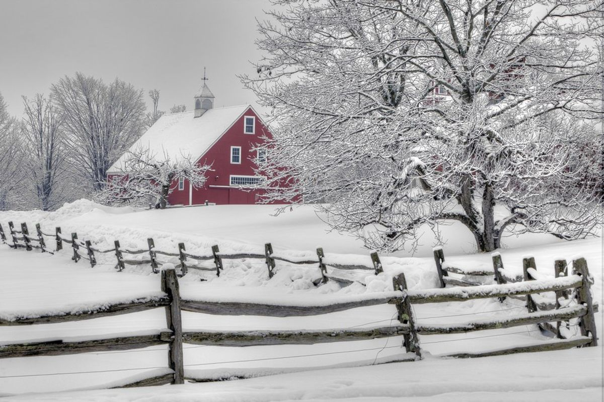A 12 Step Guide On How To Winter In New England