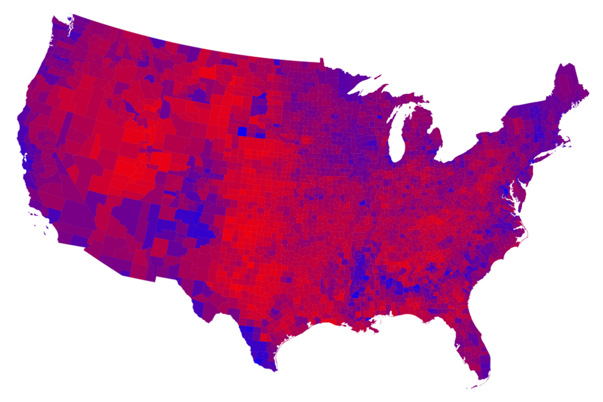 Red versus Blue: Why Cities Vote Democratic