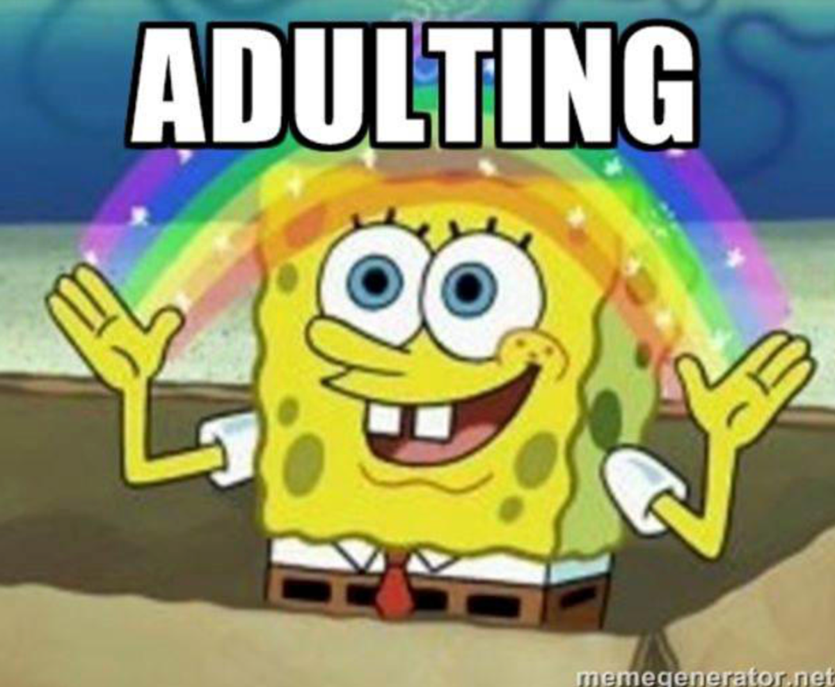 """Several Aspects of """"Adulting"""" That We Don't Want To Do"""