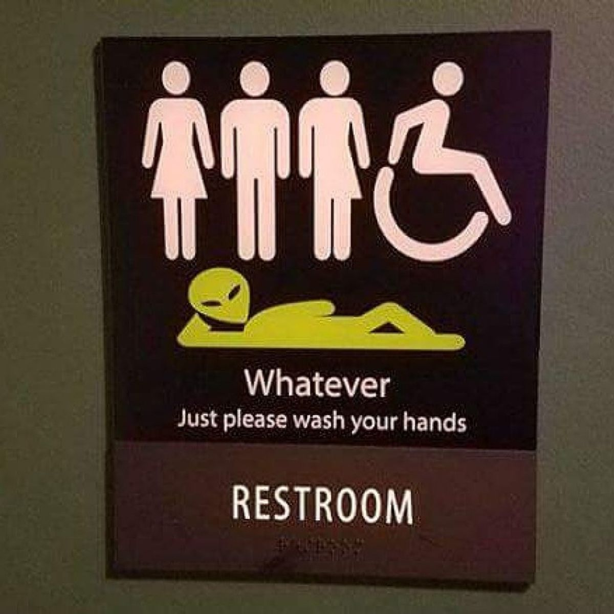 The Fight For Gender Neutral Restrooms