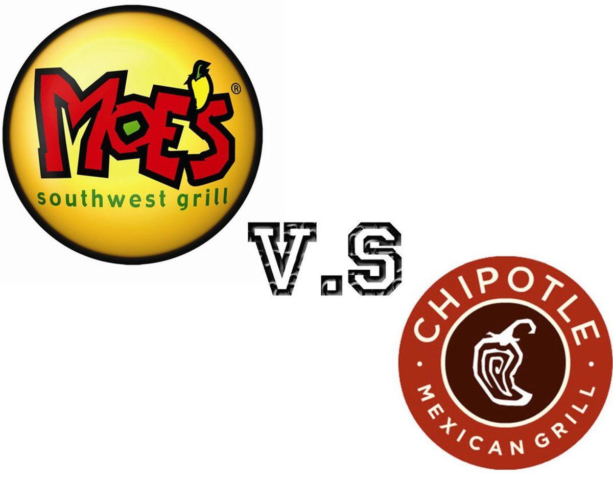 Chipotle vs. Moe's