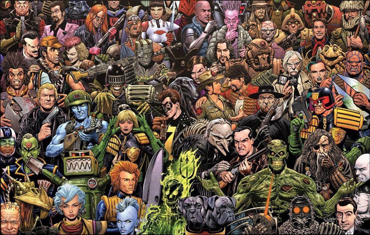 A Celebration of Comics: 2000 AD