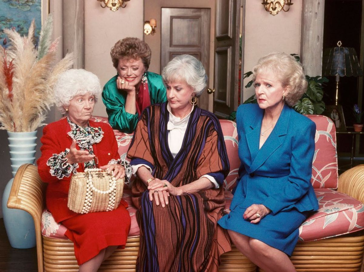 If My Friends Were The Cast Of The Golden Girls