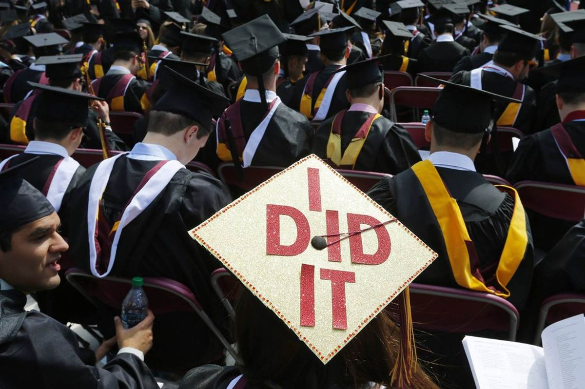 What Do You Do When You Graduate College?