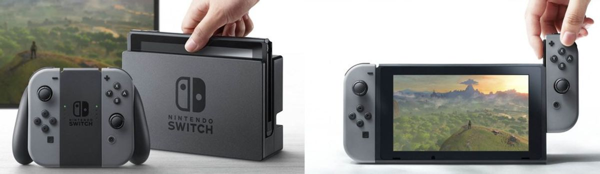 My First Impressions of the Nintendo Switch
