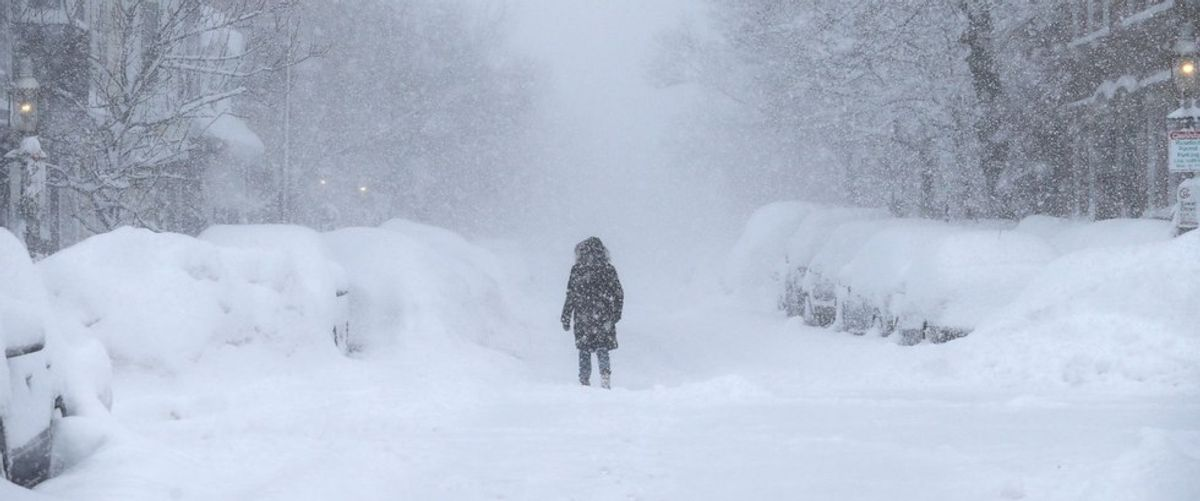 Snowstorm Madness: A True Story