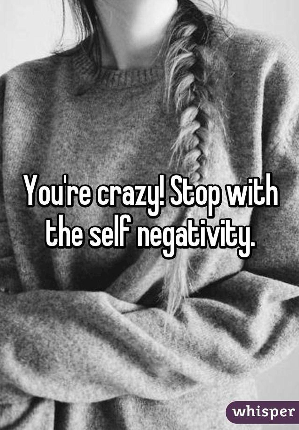 Refuse the Self-Negativity Standard