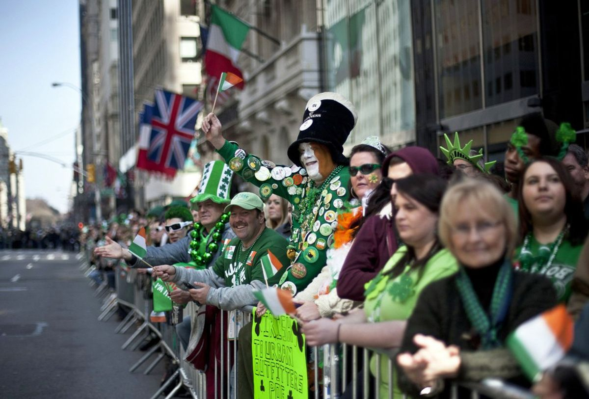 7 Thoughts You Have At A St. Patrick's Day Parade