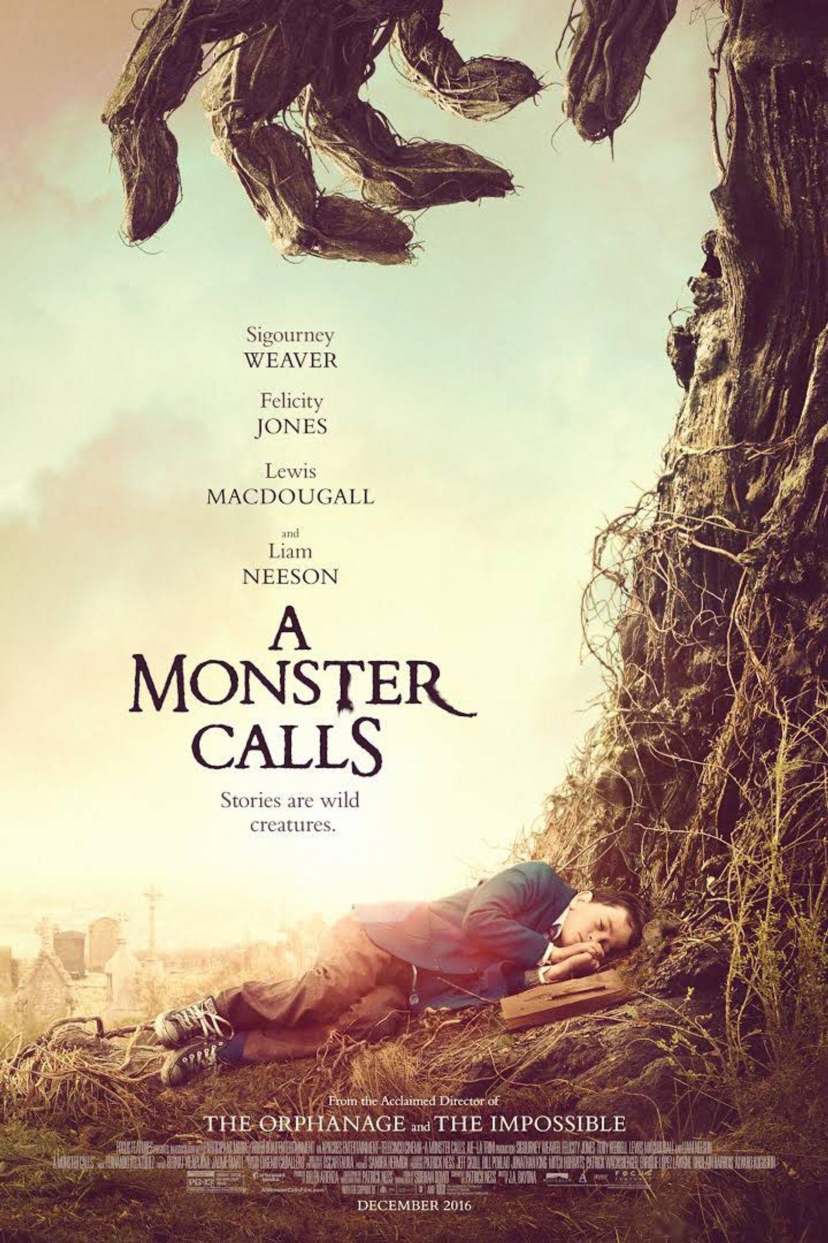 Film Review:  'A Monster Calls'