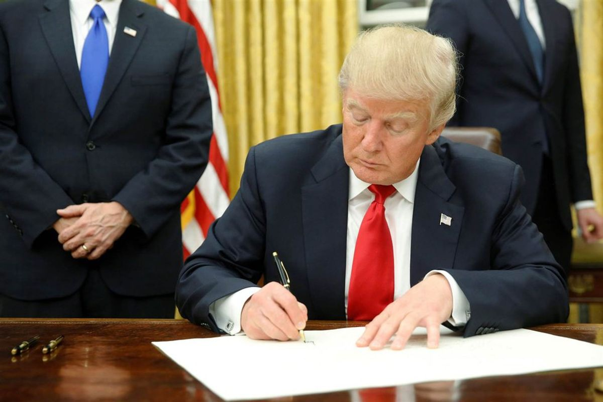 The 34 Executive Actions Trump has put Forward