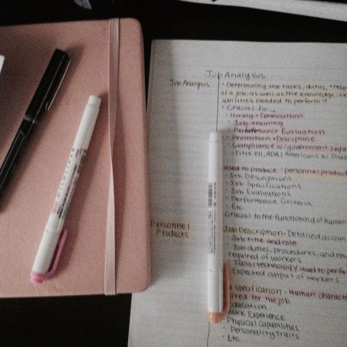What's Inside My Bag: Studyspo Edition