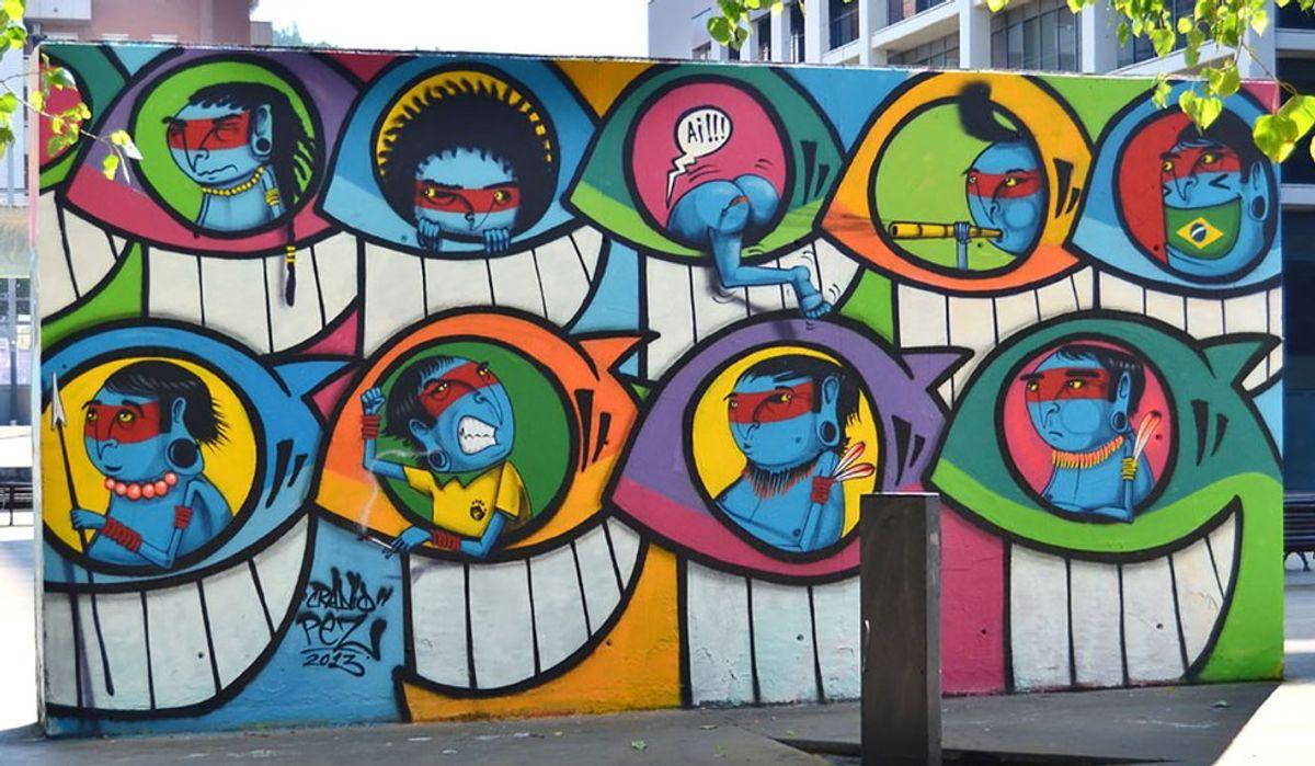 The Evolution Of Barcelona Street Art