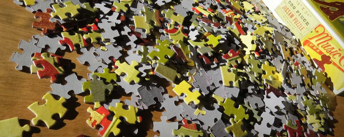 Reminder To Puzzle Yourself Whole