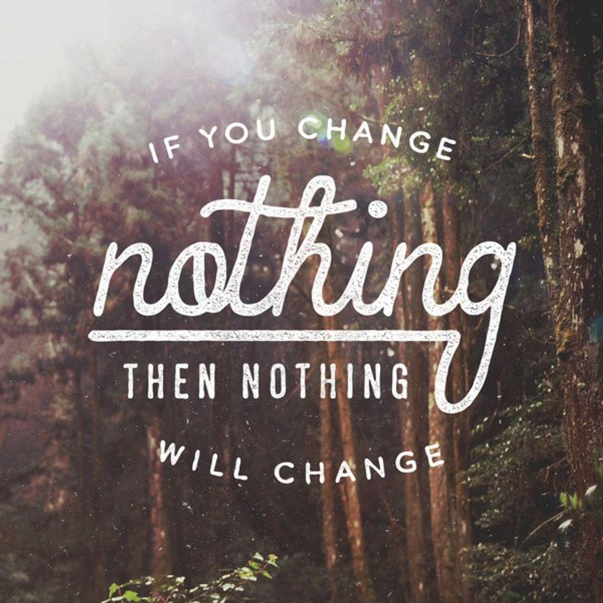 Why Change is Okay