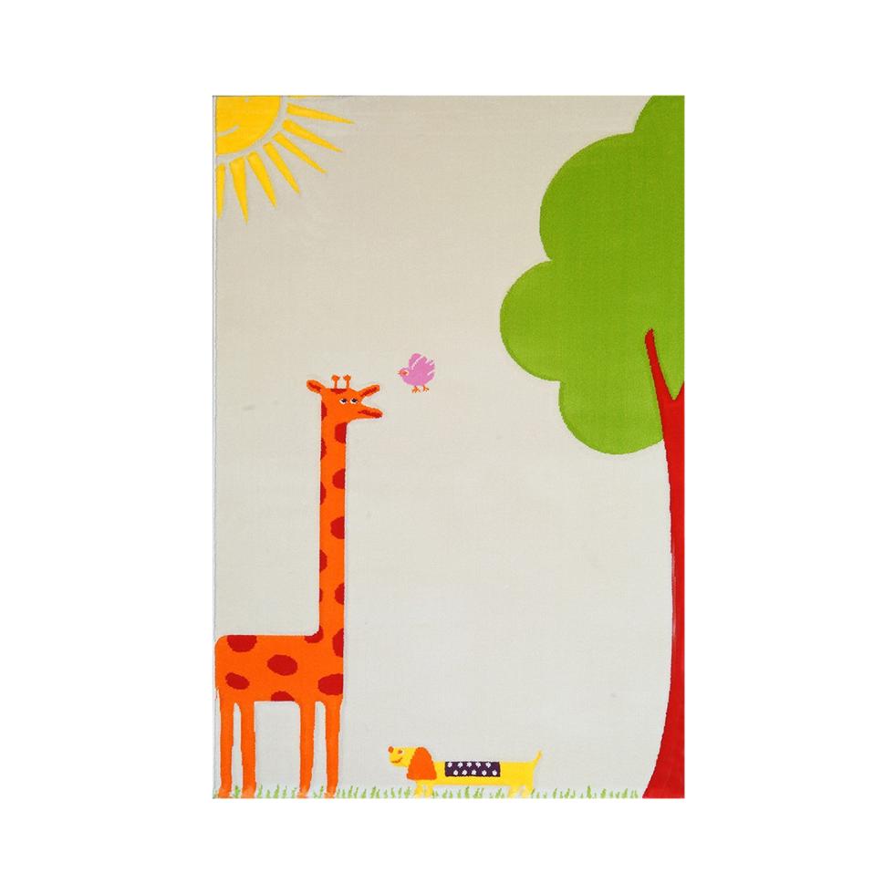Ivi World giraffe 3d play rug
