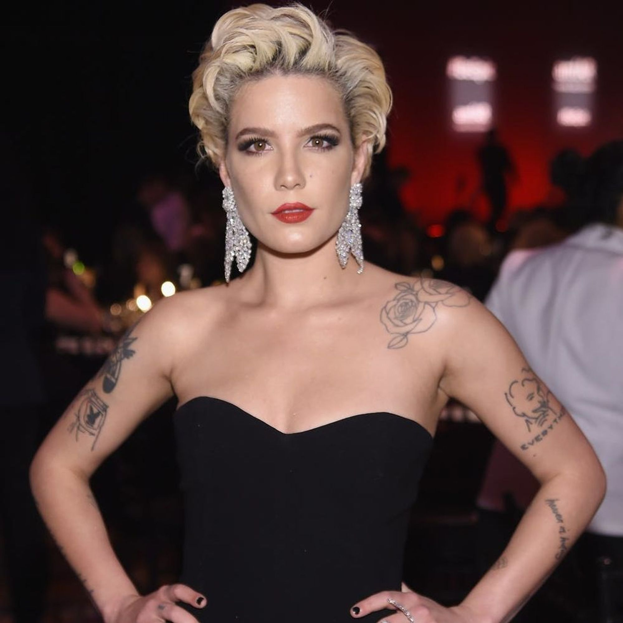 Halsey Just Landed a Major Beauty Deal Thanks to THIS ...