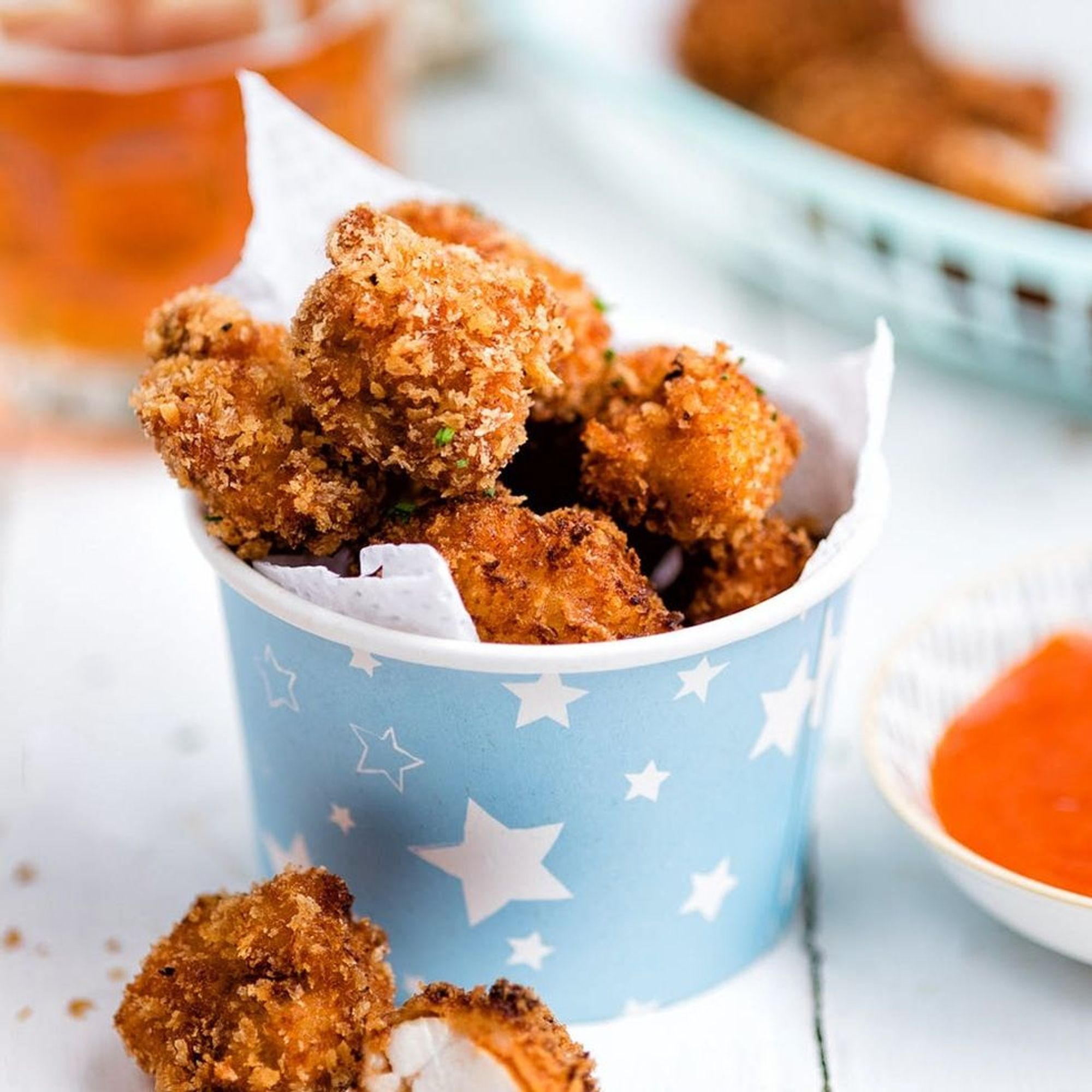 Look Away Now: This Popcorn Fried Chicken Is Super Addictive!