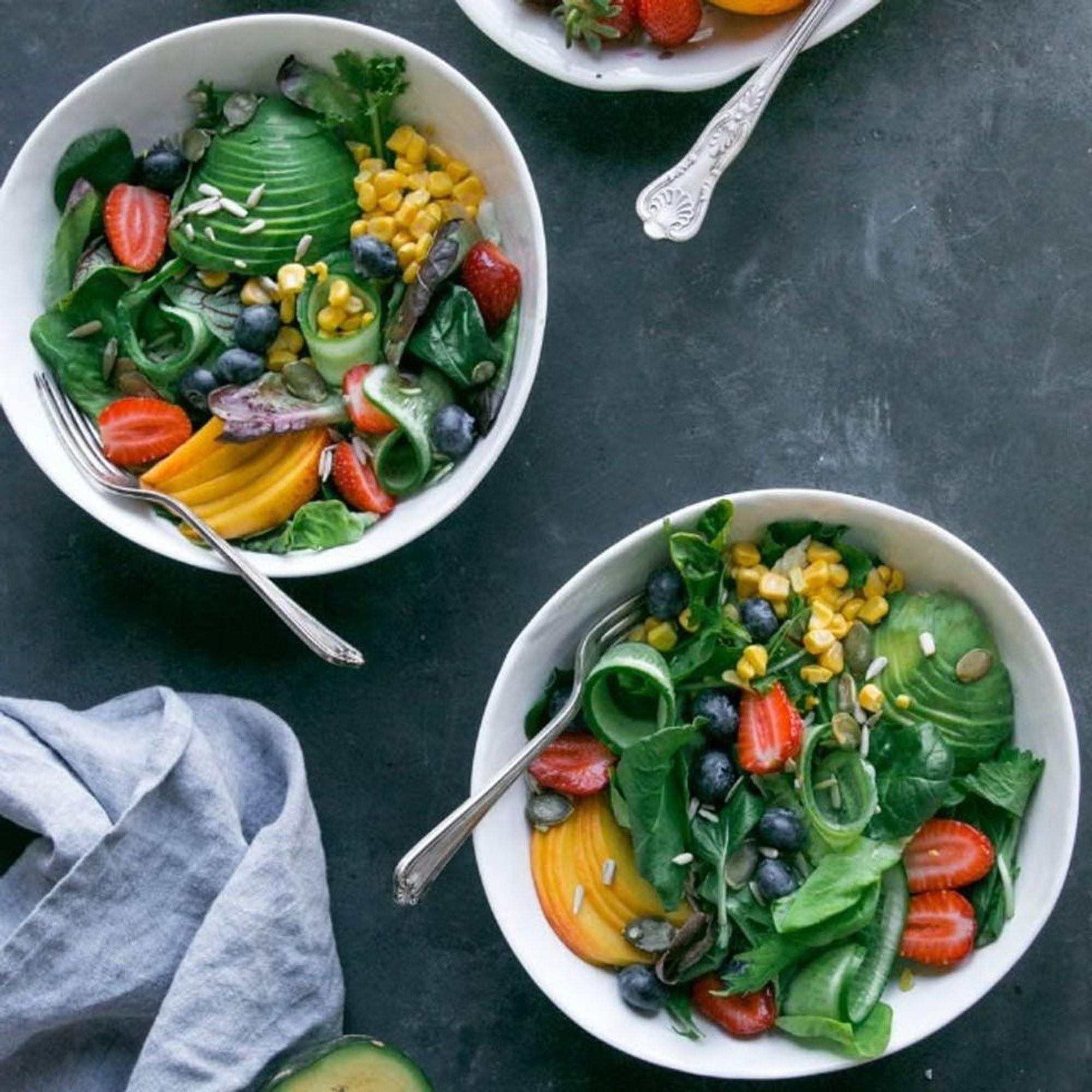 Healthy Salad Recipes cover image